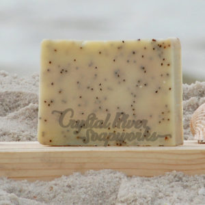 Lemongrass Poppy Soap