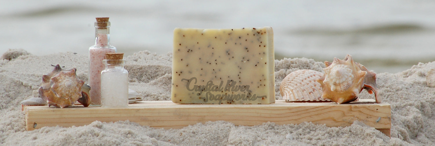 Lemongrass Poppy Soap