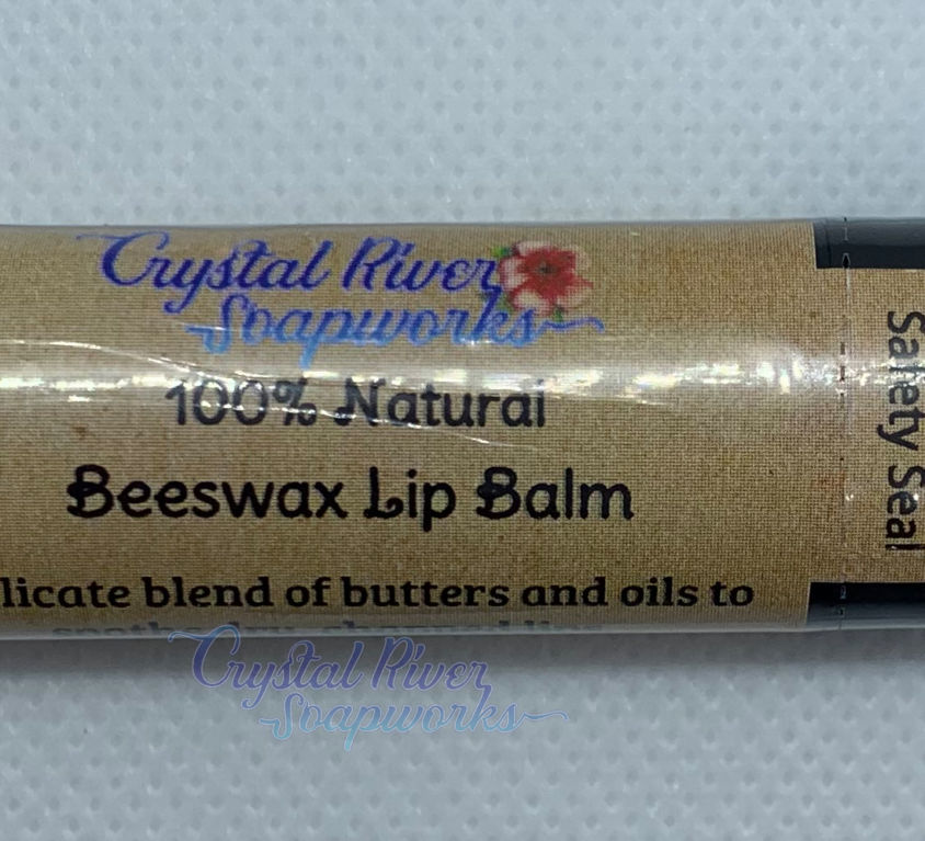 Beeswax Lip Balm – Plain