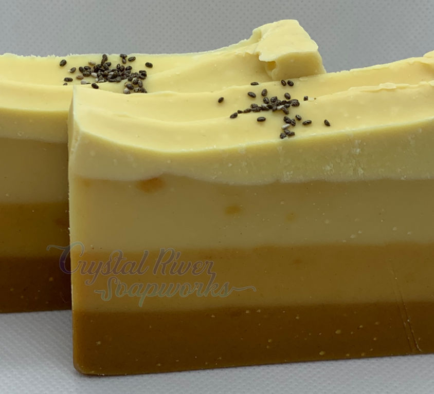 Lemon Burst with Turmeric Soap